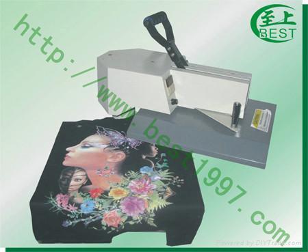 摇头式服装烫画印花加工机械 1