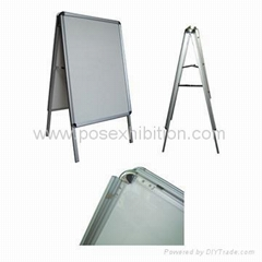 poster stand,A board stand