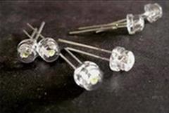 供应5mm草帽白光LED发光二极管