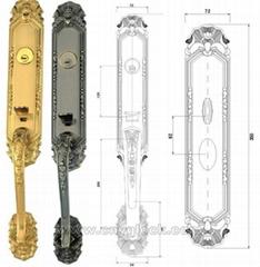 retro handle lock