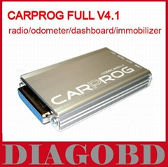 CAR PROG Auto comprehensive repair tools Full V4.1 version 21 adapter CARPROG