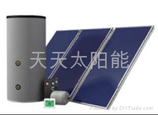 分体别墅式大容量太阳能热水系统 2