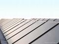360度整板吸热平板太阳能热水