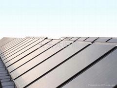 360度整板吸热平板太阳能热水器