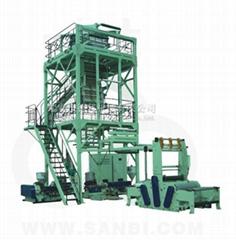 MSJ-GS系列 多層共擠(上吹旋轉牽引式)包裝薄膜吹膜機