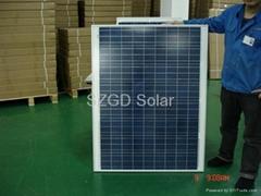 130W 36V Polycrystalline solar panel