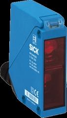 WT2纤瘦型漫反射式光电开关、增强型,高精度背景遮蔽,红色