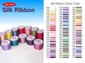 Silk Ribbon  and  Silk Satin Ribbon