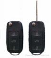 vw remote transponder key 1