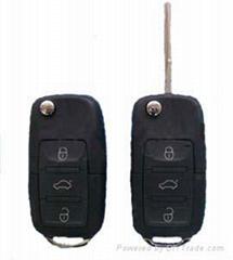 vw remote transponder key