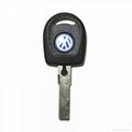 vw remote transponder key 2