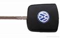 vw remote transponder key 3