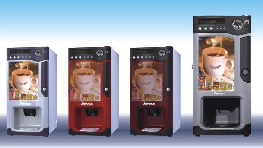 明佳佳系列家用商用投币式咖啡饮料奶茶机 2