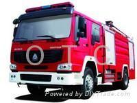 howo fire truck