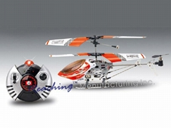 3ch remote control helicopter (metal  frame)
