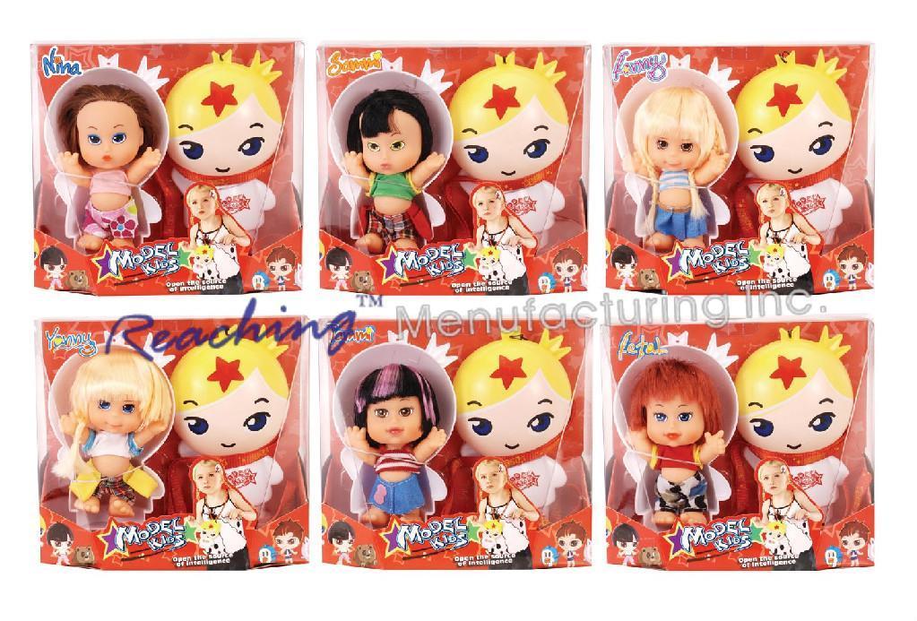 NM 5 Inch Model Kids Doll   4