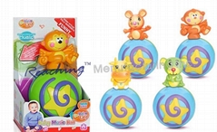 Battery operate Baby toys(music Ball/Jzaa/Drum/Crab/Music instrument)