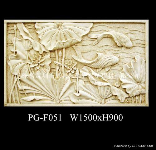 浮雕壁画,雕刻花板,艺术花盆,雕塑喷泉,风格壁炉,罗马柱,门窗套,线条图片