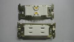 Toshiba標準室內插座_清庫存一批_不含面蓋