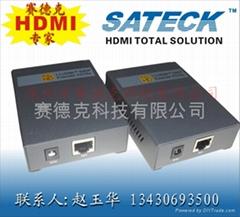 HDMI延長器 100M 信號穩定工程幫手