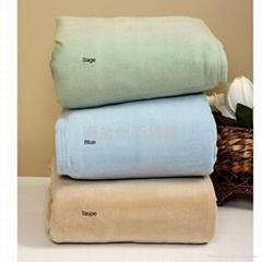 海绵植绒毯