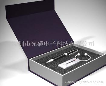 供應國內外貿禮品激光筆U盤 3