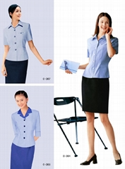 办公室职业装 单位职业装 定制职业装