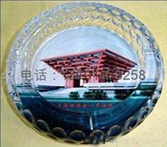 上海水晶烟灰缸