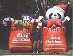 inflatable christmas product/santa claus/snowman