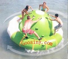 Inflatable Saturn Rocker /water Satrun