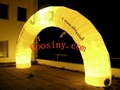 inflatable arch with light