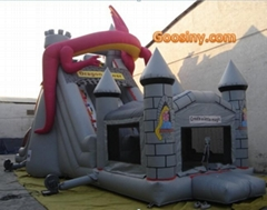 inflatable obstacle/bouncer/castle/tunnel