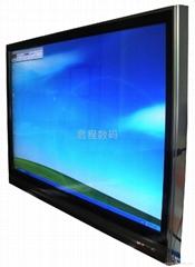 红外触摸电视电脑一体机铝型材外壳套料