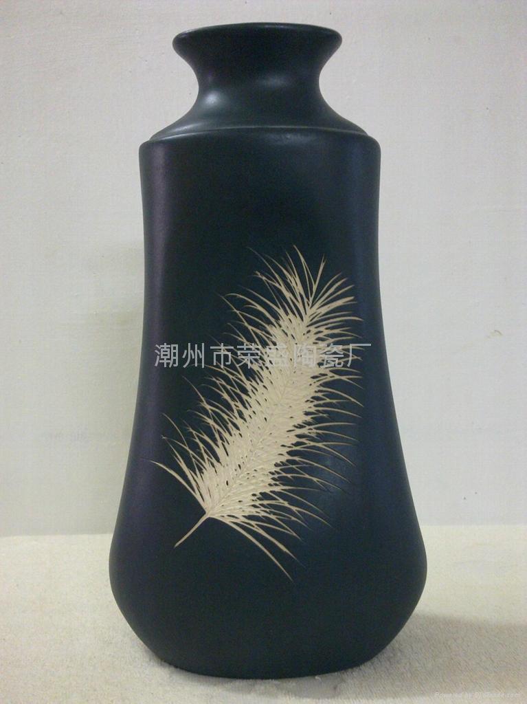 Black Chinese Vase Vases Sale
