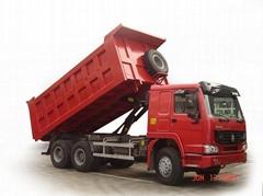 6*4 dump truck,SINOTRUCK,HOWO brand,