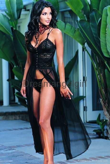 sexy women's night gown fancy sleepwear - s8723 ...