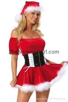 Sexy Hot Christmas Lingerie Fancy Dresses 9275