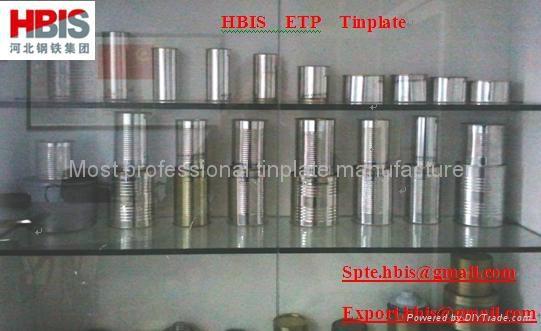 CA Prime ETP(Electrolytic tinplate sheet coil) 4