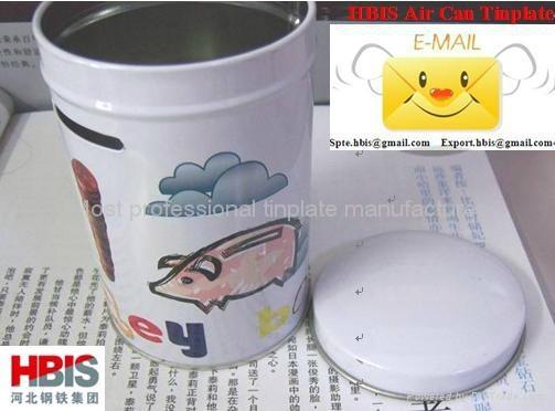 CA Prime ETP(Electrolytic tinplate sheet coil) 5
