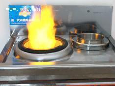 酒店常用灶-醇基燃料单炒单尾炉