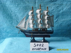 20CM Sail Boat (Please enter)