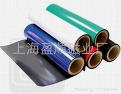 供應PVC橡膠磁,裱雙面膠橡膠磁