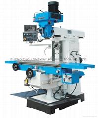 H/V Head Turret Milling Machine