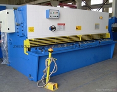 (CNC) Hydraulic Swing Beam Shearing