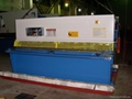 (CNC) Hydraulic Swing Beam Shearing Machine 2