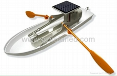 DIY Solar Rowing Boat