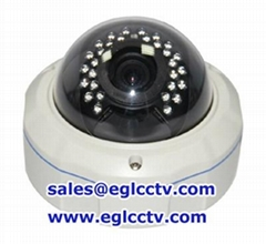 SONY CCD 700TVL 4-9mm lens Varifocal lens Vandal proof Dome CCTV Camera