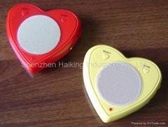 Heart Shape Radio with Speaker