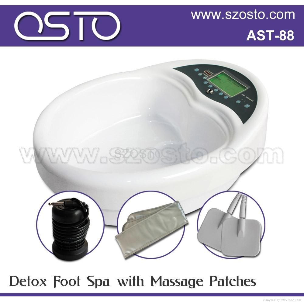 ion cleanse foot spa with belt 1