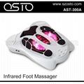 Infrared foot massage